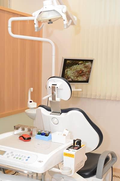 診療台|神戸市東灘区住吉のヨネダ歯科