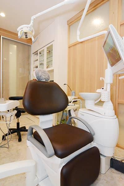 ホワイトニング 施術室|神戸市東灘区住吉のヨネダ歯科